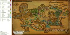 Deed Location Maps for LOTRO.