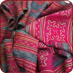 #retro #hemp #silk #homespun #tribal #hmong #textile http://stores.ebay.com/ORIENTALTRIBE