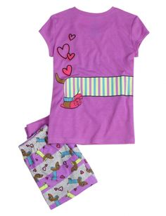 Dog Capri Pajama Set | Girls Pajamas Clothes | Shop Justice