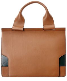 MARNI Marni Mori Bi-Color Leather Tote'. #marni #bags #leather #hand bags #tote #