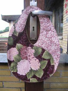 YinYang taske i hortensia stof