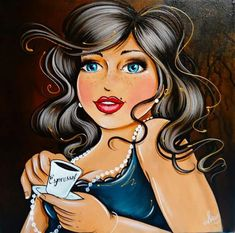 Risultati immagini per isabelle desrochers peinture Plus Size Art, Fat Art, Isabelle, Cross Paintings, Fat Women, Pictures To Paint, Big And Beautiful, Diy Painting, Oeuvre D'art