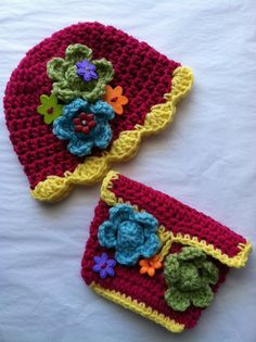Child Hat and Purse Set Crochet Child Hat by LakeviewCottageKids, $45.00