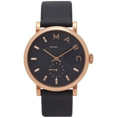 Womens Watches Marc Jacobs Baker Rose Gold Tone Watch (730 BRL) ❤ liked on Polyvore featuring jewelry, watches, accessories, bracelets, relojes, marc jacobs, marc jacobs jewellery, dial watches, rose gold tone jewelry and rose gold tone watches