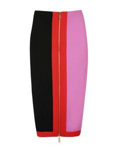 Colour block pencil skirt - Black   Skirts   Ted Baker ROW