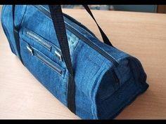 Diy jeans tasche. Tasche jeans nähen. - YouTube