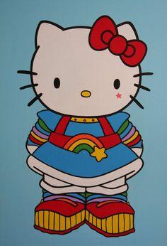 Rainbow Brite Hello Kitty