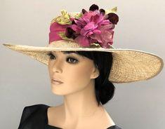 Fashion of Hats! Sinamay Hats, Fascinator Hats, Wide-brim Hat, Boater Hat, Women's Hats, Hats For Men, Hat Men, Ladies Hats, Royal Ascot Hats