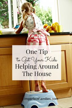 Tired of nagging, begging and bribing your kids to help around the house? If you've tried everything to get your kids to do their chores, but nothing works, give this positive parenting tip a try!