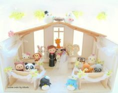 Custom Cake TopperDollhouse Miniatures and Art Dolls by kikuike