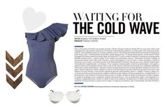 """""""Coldwater"""" by mr-bubblesap on Polyvore featuring Lisa Marie Fernandez, Victoria Beckham and WALL"""