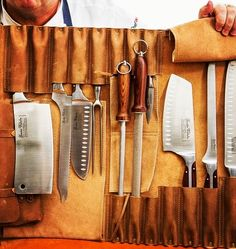 from chefs roll: the knife roll