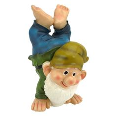 Handstand Henry the Garden Gnome Statue