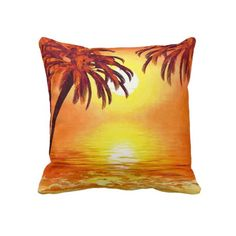 tropical waves pillows