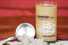 Brown Sugar Pudding Candle by Diamond Candles @Diamond Candles #AWESOME CK IT OUT