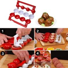 Meatball Maker Stuffed Fish Meat Ball Scoops Mold Baller Easy Patty Kitchen Tool for sale online Fish And Chicken, Fish And Meat, Buy Kitchen, Kitchen Tools, How To Make Meatballs, Must Have Kitchen Gadgets, Scotch Eggs, Rice Balls, Homemade Tools