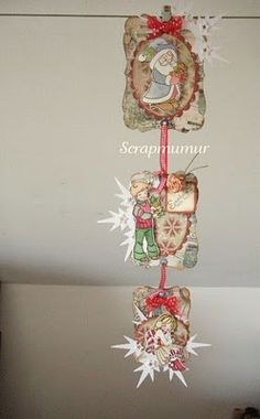Whiff of Joy - Tutorials & Inspiration: Triptych of Christmas with Murielle