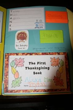 thanksgiving & pilgrim unit study