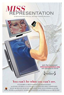 Miss Representation. Everyone must see this movie about the way American media portrays and sells to women. Interviews with lots of prominent women like Rosario Dawson, Condoleezza Rice, Nancy Pelosi, Rachel Maddow, Katie Couric, Gloria Steinem, Jane Fonda, and Margaret Cho.