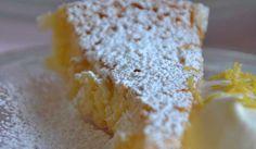 Syrlig citronkladdkaka - Bakspecialisten - Recept