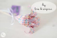 DIY #107. Lirios de origami/Origami lilies