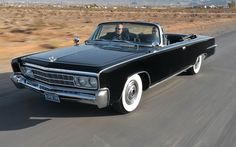 1966 Imperial Crown Convertible Front Three Quarter View  Photo 0