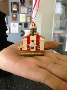 cape bonavista # 1 lighthouse to see in newfoundland. Hobbs, Newfoundland, Lighthouse, Cape, Christmas Ornaments, Holiday Decor, Home Decor, Bell Rock Lighthouse, Light House