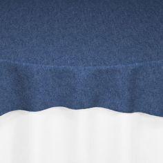Dark Blue Denim Overlay