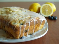 Hungry Hungry Highness: Lemon Blueberry Pound Cake