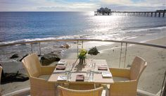 View from the Malibu Beach Inn Terrace