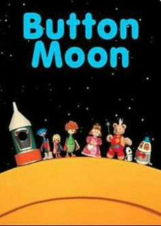 "Button moon: One of the ealiest programmes i remember watching when i was little. Bunch of characters made from kitchen utensils go to the moon, thats its. When i was a tiddler i thought it was just great. ""off to button moon"" :) 1980s Childhood, My Childhood Memories, Sweet Memories, Childhood Tv Shows, Button Moon, Do You Remember, Classic Tv, Just In Case, Growing Up"