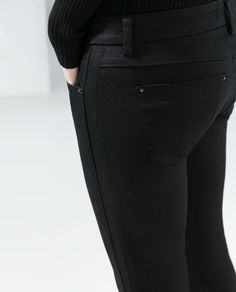Image 6 of SKINNY 5-POCKET TROUSERS from Zara $59.90