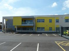 Divine Mercy Primary School Solid Wall Insulation, External Wall Insulation, Rainscreen Cladding, Cladding Systems, Divine Mercy, Facade Design, Hospitals, New Builds, Primary School