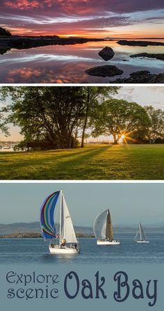 Explore scenic Oak Bay. A wonderful spot to venture outdoors in Victoria, B.C. #exploreVictoria | www.tourismvictoria.com