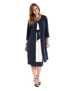 Joanna Hope Dress and Jacket Set