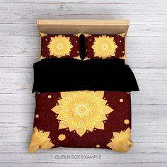 Bohemian Bedding, Mandala Bedding, Boho Bedding, Hippie Bedding, Ethno Bedding, Mandala Duvet cover, Indie Bedding,Boho Style,Boho Decor