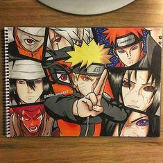 Tales of a Gutsy Ninja: Naruto Ninpo Handbook Naruto Vs Sasuke, Anime Naruto, Art Naruto, Anime Echii, Naruto Sketch, Naruto Drawings, Naruto Shippuden Anime, Anime Sketch, Boruto