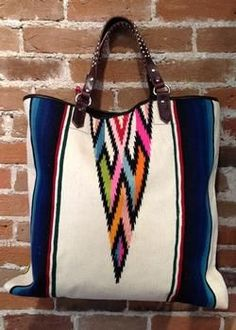 Serape Tote from CryBabyRanch