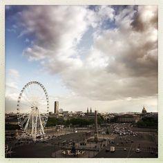 La roue #placedelaconcorde  #concorde #paris #paname