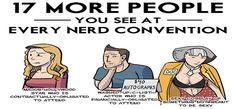 O que você sempre vai encontrar em qualquer comic con, qualquer campus party e qualquer evento nerd? Não sabe? Então descubra aqui com a gente!