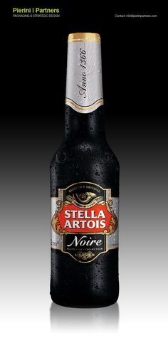 Packaging of the World: Creative Package Design Archive and Gallery: Stella Artois Noire