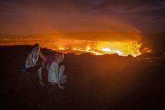 Фото - подорожі по світу: Восхождение на вулкан Эрта Але. Эфиопия. Часть 1.