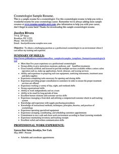 Cosmetologist Resume Objective Entrancing Nice Actor Resume Template To Boost Your Career Check More At Http .