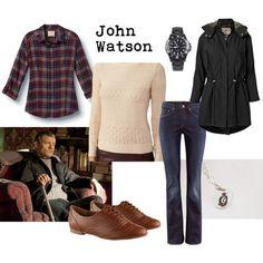Character: John Watson Fandom: Sherlock Fandom wardrobe... Lol just subconsciously bought a knit shirt that matches even better than this one