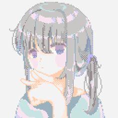 Reposting rip me😔 Kawaii Drawings, Cool Drawings, Pixel Art Background, Pixel Characters, Pix Art, Pixel Animation, Anime Pixel Art, Art Manga, 8 Bit
