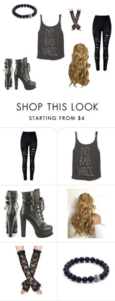 """Genie in the bottle"" by millenrocks ❤ liked on Polyvore featuring WithChic, Billabong and Luichiny"