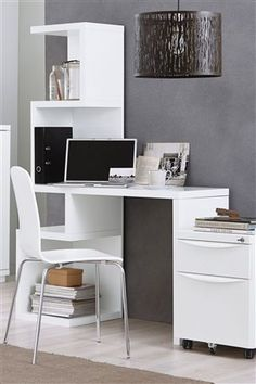Buy Milano White Desk from the Next UK online shop