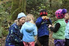 Flow Learning in a Forest Kindergarten