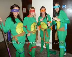 Heroes in a half shell….Turtle power!  So, the plan was fancy dress for our friends 30th birthday party, we wanted something fun, but also a bit s...