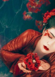 G Fantasy Photography, Photography Poses, Chinese Makeup, Art Beauté, Geisha Art, Geisha Makeup, Makeup Art, Ancient Beauty, Beauty Art